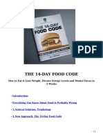 The 14-Day Food Code eBook