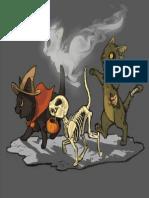 Gatos Dia de Muertos