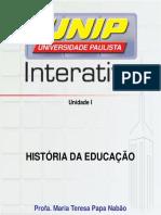 História Da Educação I