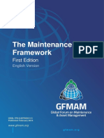 Gfmam the Maintenance Framework First Edition English Version