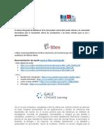Comunicación Activación E-LIBRO