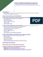 Checklist Nonprofit