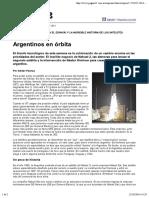 Argentinos en Orbita - Adrian Paenza