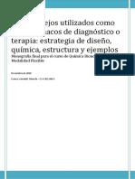 Biocomplejos Utilizados Como Radiofármacos de Diagnóstico o Terapia - Estrategia de Diseño, Química y Estructura, Ejemplos