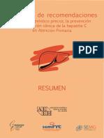 Consenso Hepatitis C-Resumen