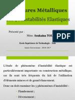 4- Instabilités élastiques