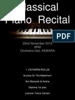 Recital Cover