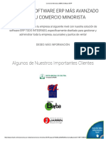 Comercio Minorista _ MBA3 Software ERP