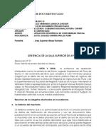 SENTENCIA SUPREMA USO DOC FALSO.docx