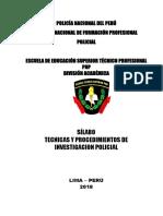 5 Tecnicas y Procedimientos de Investigacion