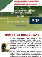 OHSAS UNFV 22.10.18