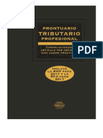 Prontuario Tributario Correlacionado Casos Practicos Profesional 2017