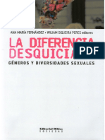 Ana María Fernandez, William Siqueira Peres (Eds) - La Diferencia Desquiciada.