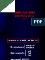 1. Diabetes Mellitus. Complicaciones Cronicas