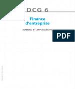 DSCG 2-Finance-Corrigés Du Manuel