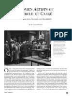 Women Artists of Cercle et Carre