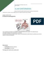 Apuntes Auxiliar Enfermeria El Electrocardiograma