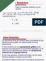 analizador sintactico sintactico
