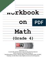 Workbook Mathg4