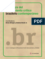 Antología del pensamiento crítico brasileño contemporáneo