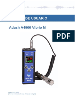 Adash A4900 Vibrio Manual Esp
