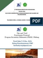 Panduan PKM 2018 (1)