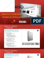LTE Training Baseband Product Introduction