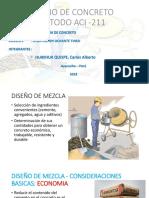 Diseño de Mezcla Metod ACI