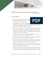 Informe Sobre El Proyecto de Ley Especial de Protección Al Salario