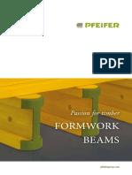 Pfeifer Group PDF Schalungstraeger Infoblatt En