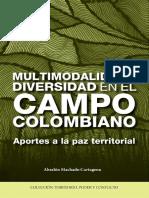 Multimodalidad y Diversidad en El Campo Colombiano Absalon Machado Cartagena