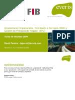 Arquitecturas Empresariales, SOA y BPM-1.0 (2009)