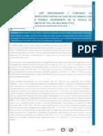 El Uso Prolongado y Contínuo de Hidroclorotiazida