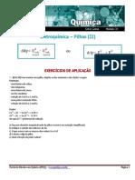 Eletroquímica – Pilhas (II)