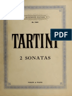 Tartini - 2 Sonatas