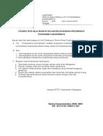 Aturan Tata Nilai Budaya Dalam Pelaksanaan Program Di Pkm Gadingrejo