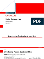 Fusion Customer Hub Solution Overview - 201205