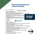Características de Merchandising de Entidades Financieras