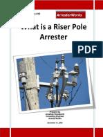 ArresterFacts 015 - What is a Riser Pole Arrester.pdf