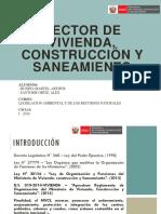 Sector Vivienda, Construcción y Saneamiento (Expo)