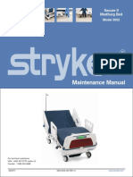 Stryker Secure 2 3002 Hospital Bed - Service Manual