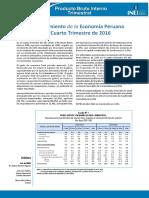 01 Informe Tecnico n01 Producto Bruto Interno Trimestral 2016iv
