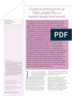 Clinical Evaluation of Melladerm Plus a Honey Based Gel