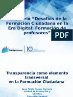 Juan Pablo Camps - Formación de Profesores