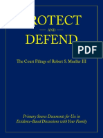 Protect and Defend the Court Filings of Robert S Mueller III
