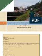 Rencana Kerja Pengurusan Terminal Untuk Kepentingan Sendiri (Pelabuhan) PT BKS
