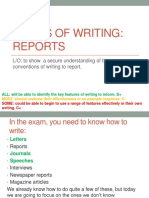 Forms of Writing
