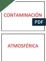 CONTAMINACIÓN ATKMOSFERICA