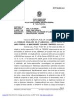 2009-Ação Civil Pública contra a Portaria 397