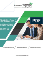 Translation and Interpretation Services in USA